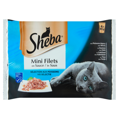 Sheba Mini filet in saus visselectie
