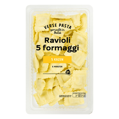 Huismerk Verse ravioli 5 formaggio
