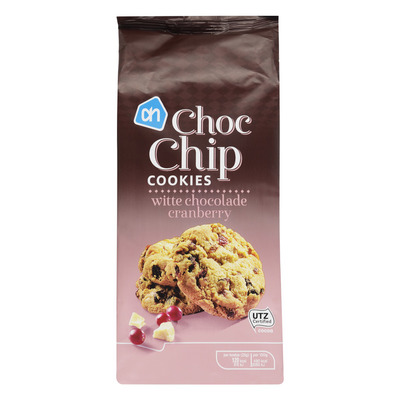 AH Choc chip cookies wit-cranberry