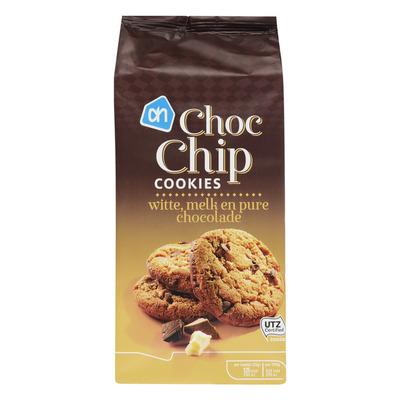 AH Choc chip cookies wit-melk-puur