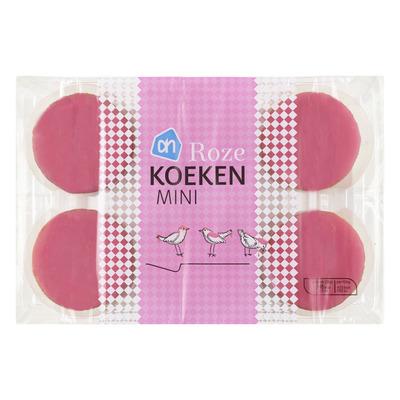 Huismerk Mini roze koeken