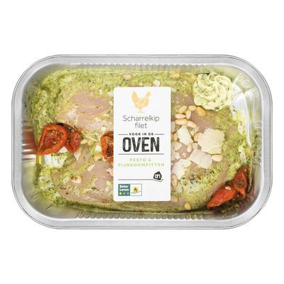 Huismerk Ovenschotel kipfilet pesto-pijnboompit