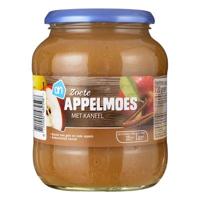 Huismerk Oma's appelmoes met kaneel