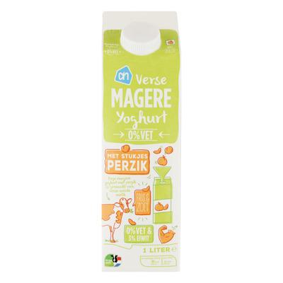 Huismerk Magere yoghurt perzik
