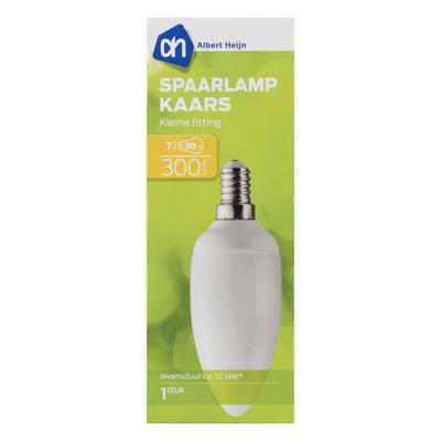 AH Spaarlamp kaars 7W kleine fitting