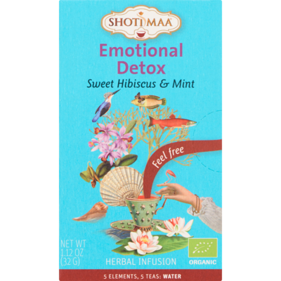 Shoti Maa Thee biologisch emotional detox 16 zakjes