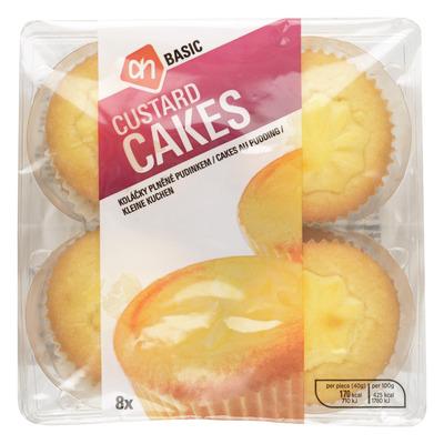 Budget Huismerk Custard cakes
