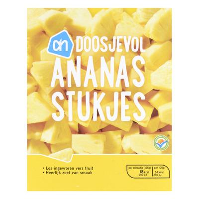 AH Doosjevol ananasstukjes