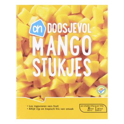 Huismerk Doosjevol mangostukjes