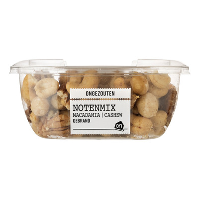 Huismerk Notenmix macadamia ongezouten