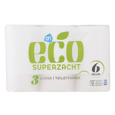 Huismerk Ecologisch toiletpapier 3-laags