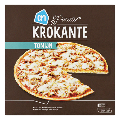 Huismerk Krokante pizza tonno