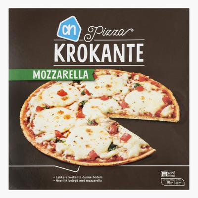 Huismerk Krokante pizza mozzarella