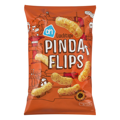 Huismerk Pinda flips