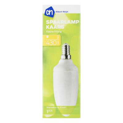 AH Spaarlamp kaars 9W kleine fitting