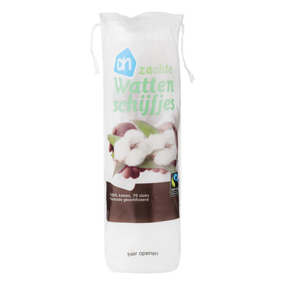 Huismerk Fairtrade wattenschijfjes
