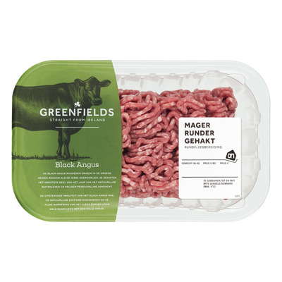Huismerk Greenfields mager rundergehakt