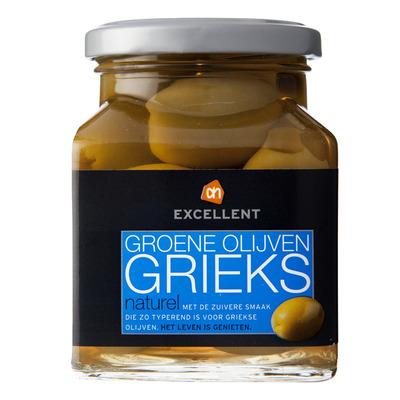 Huismerk Groene Griekse olijven naturel