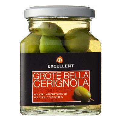 Huismerk Groene olijven bella Cerignola