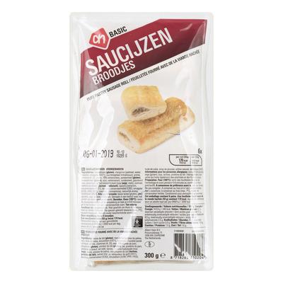 Budget Huismerk Saucijzenbroodjes