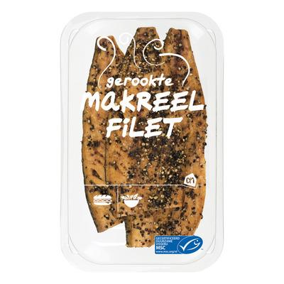 Huismerk Gerookte makreelfilet peper