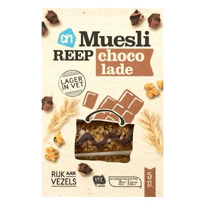 AH Mueslireep light chocolade