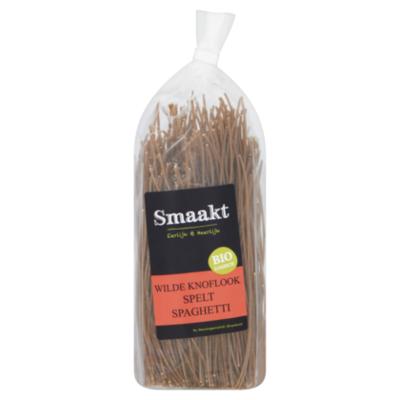 Smaakt Spaghetti wilde knoflook spelt bio