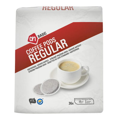 AH BASIC Koffiepads regular