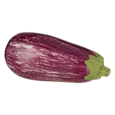 Gestreepte aubergine