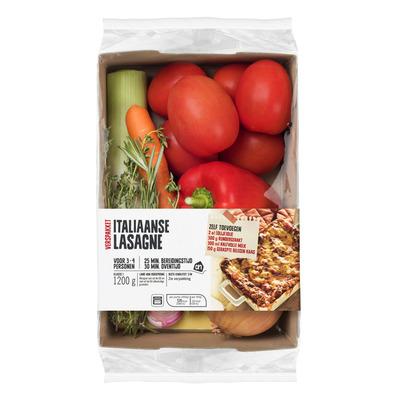 Huismerk Italiaanse lasagne verspakket