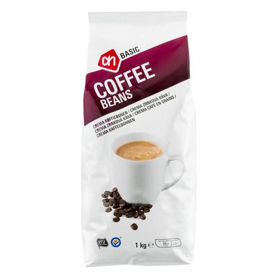 Budget Huismerk Koffiebonen crema