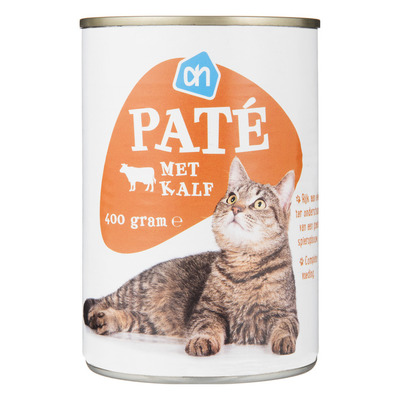 Huismerk Paté met kalf blik