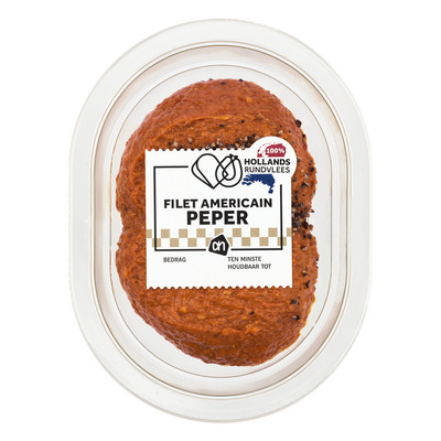 AH Filet americain peper