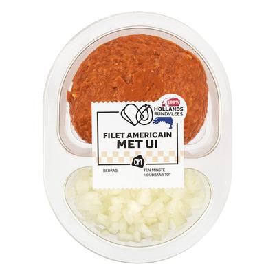 Huismerk Filet americain met ui