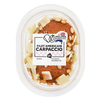 Huismerk Filet americain carpaccio