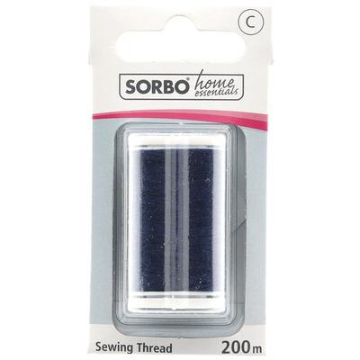 Sorbo Garen 100% polyester marineblauw 250m