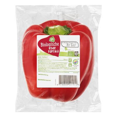 Huismerk Biologisch Rode paprika