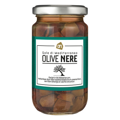 Huismerk Zongerijpte olive nere