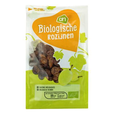 Huismerk Biologisch Rozijnen