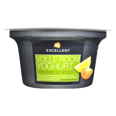 AH Excellent Roomyoghurt mandarijn-limoen