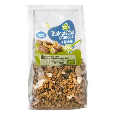 AH Biologisch Granola 4 noten