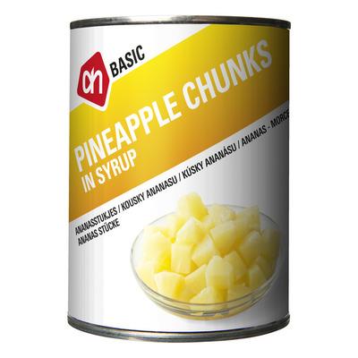 AH BASIC Ananasstukjes