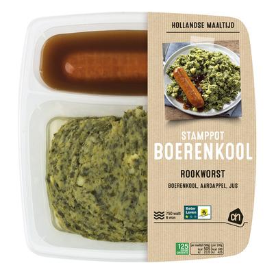 Huismerk Hollandse stamppot boerenkool