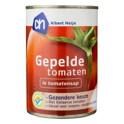 Huismerk Gepelde tomaten