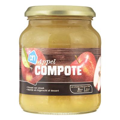 Huismerk Appelcompote met stukjes appel