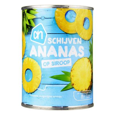 Huismerk Ananasschijven op siroop