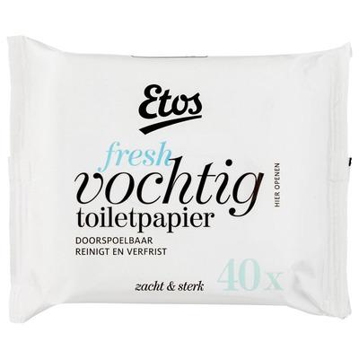 Huismerk Vochtig toiletpapier navulling fresh