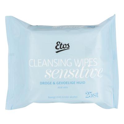 Etos Reinigingsdoekjes droge/gevoelige huid