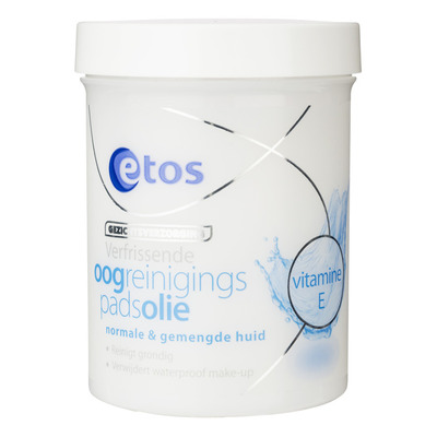 Etos Make-up remover pads olie