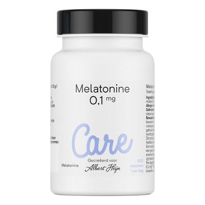 Care Melatonine 0,1 mg tabletten